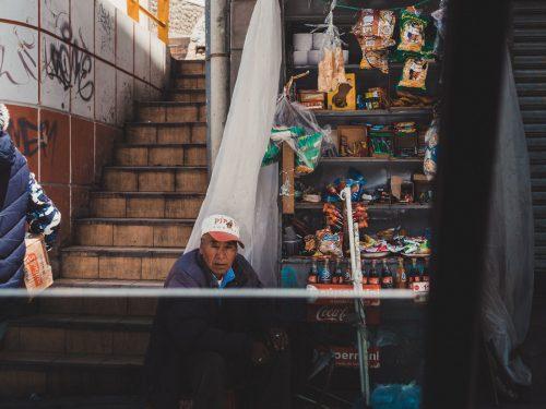 Uliczny sklepik