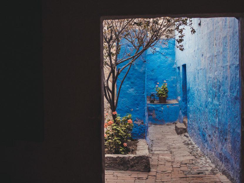Niebieskie ściany zakonu