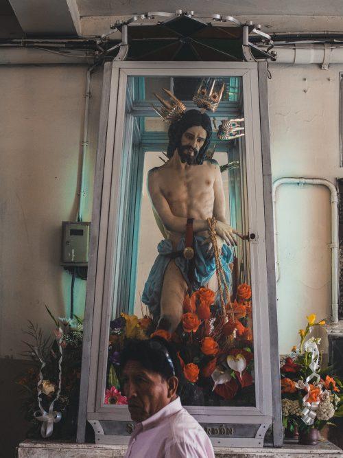 Jezus w gablocie