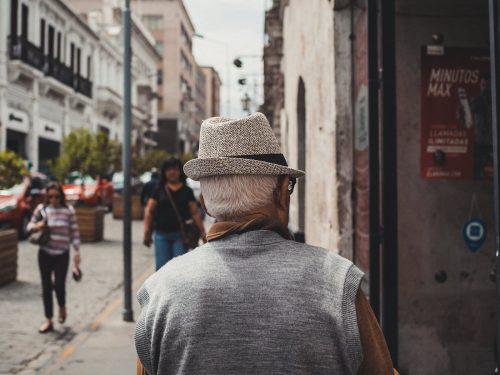 Mężczyzna w kapeluszu