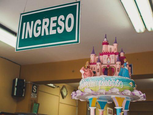 Tort w kształcie zamku