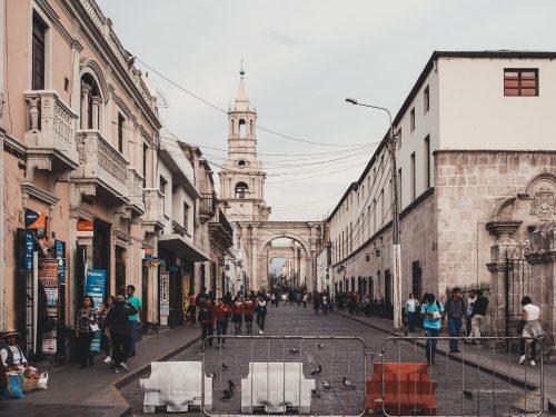 Ulica w Peru