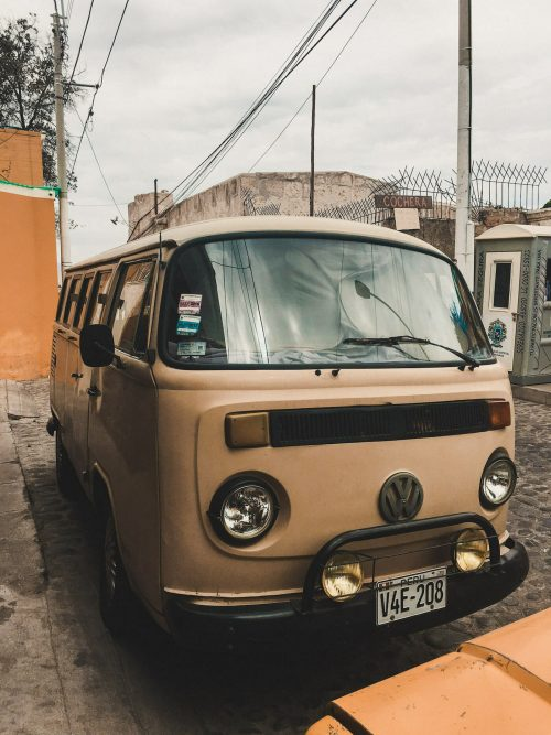 Stary Volkswagen transporter
