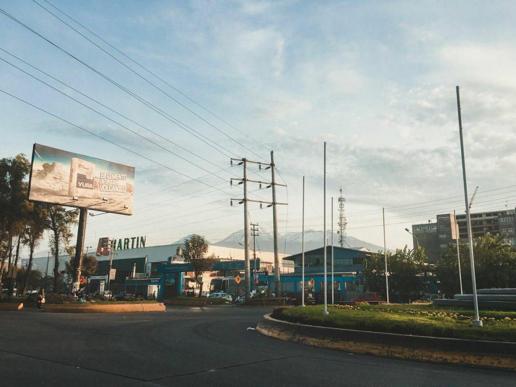 Arequipa w Peru