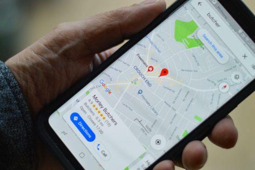 Wizytówka w Mapach Google