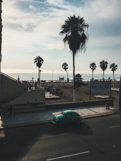 Wybrzeże w Limie