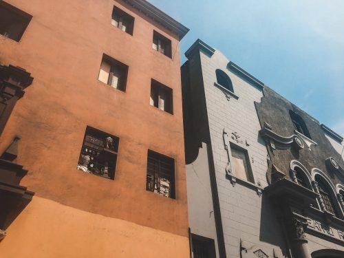 Budynki w Peru
