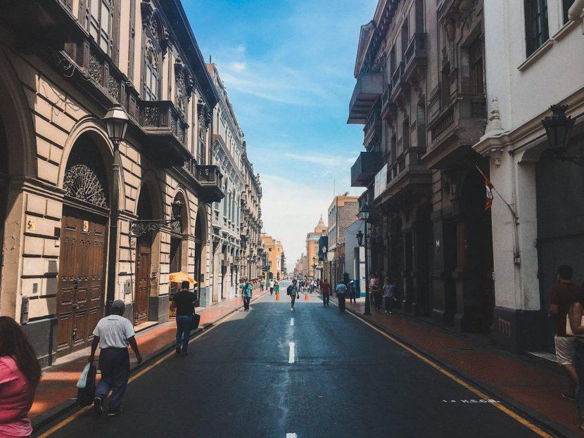 Ulic w Limie
