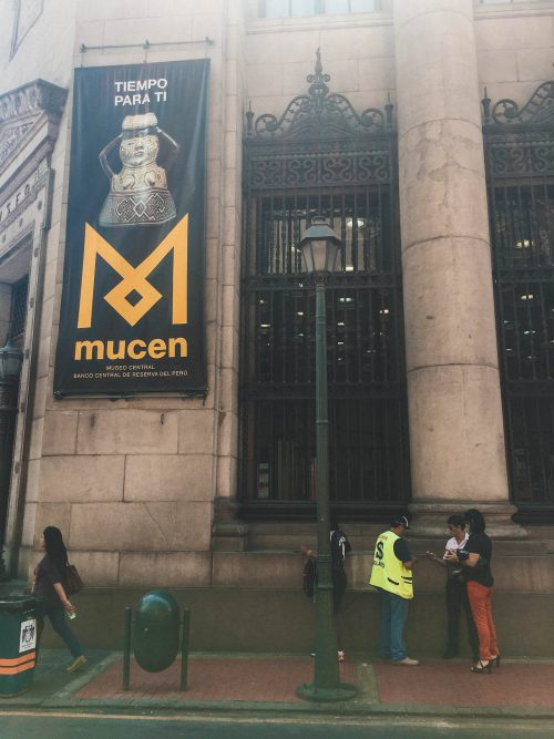 Muzeum pieniądza w Limie