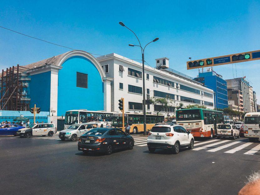 Ruch uliczny w Limie