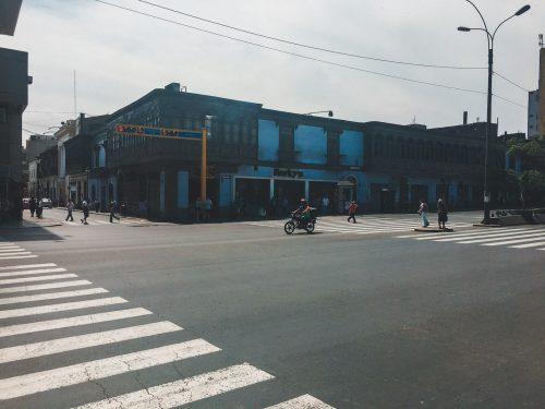 Skrzyżowanie ulic w Limie