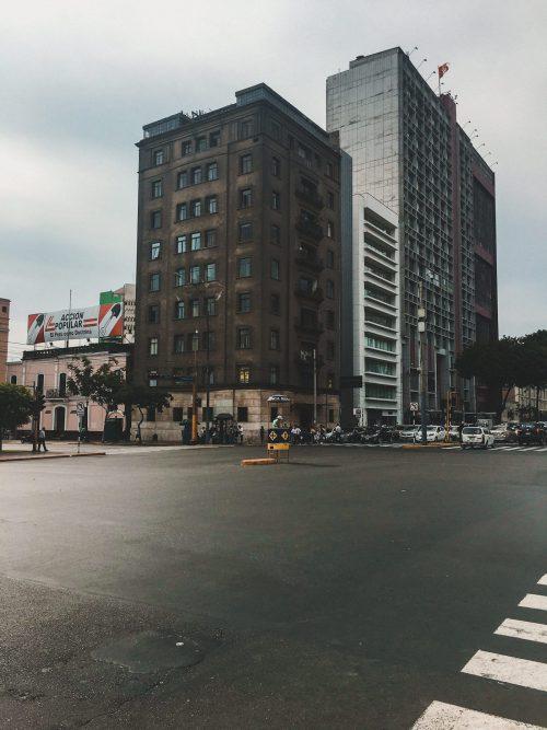 Skrzyżowanie w Limie