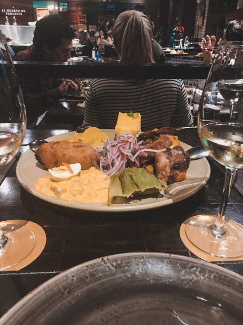 Jedzenie w Limie