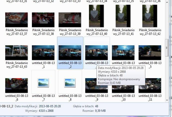 Podgląd plików NEF w systemie windows