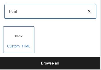 dodawania kodu HTML na stronie