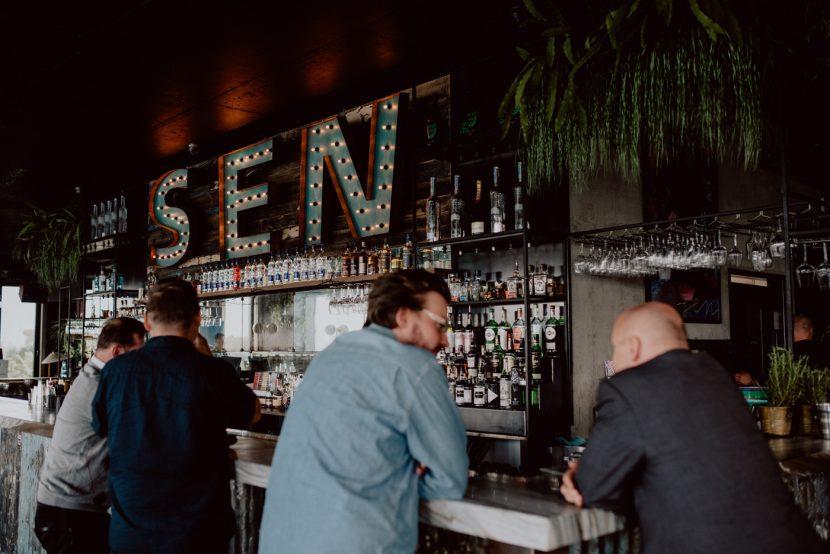 Bar w klubie SEN