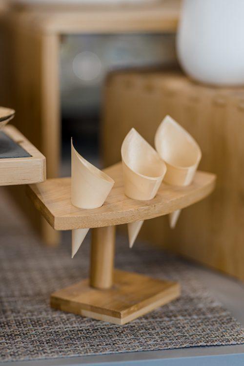 Papierowe rożki na frytki