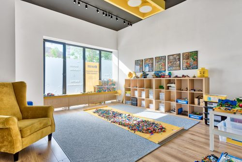 photography of the interior of a kindergarten in Warsaw