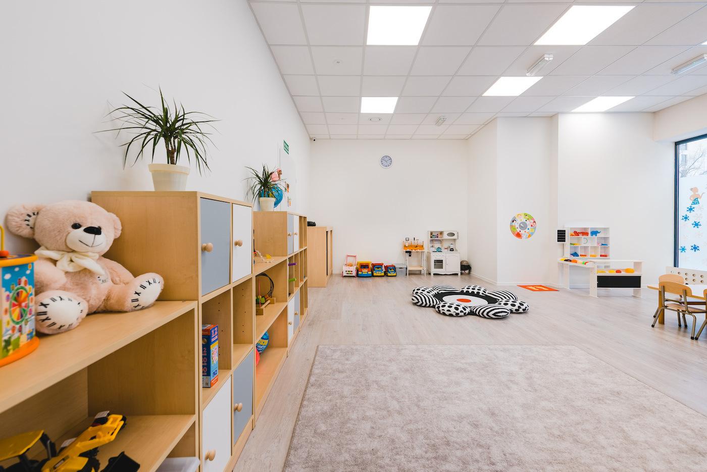 Sala w przedszkolu