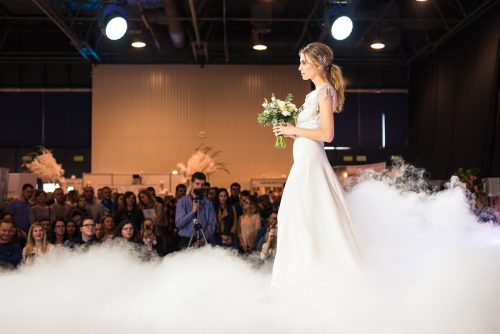 Photo report from the bride and groom fair in Warsaw in the expo hall
