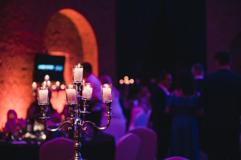 Świecznik na event