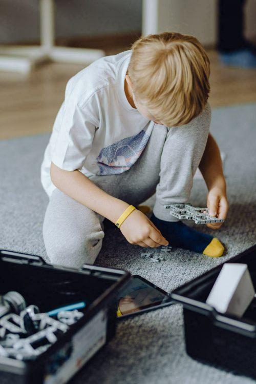 Zajęcia edukacyjne z klockami lego