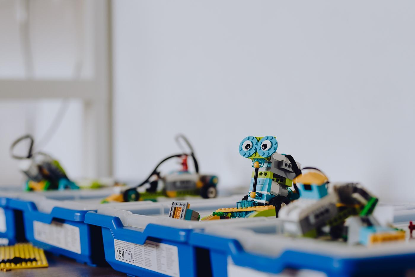 Klocki lego roboty