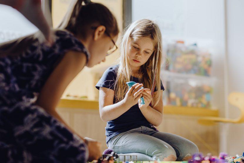 Zdjęcia na zajęciach dla dzieci