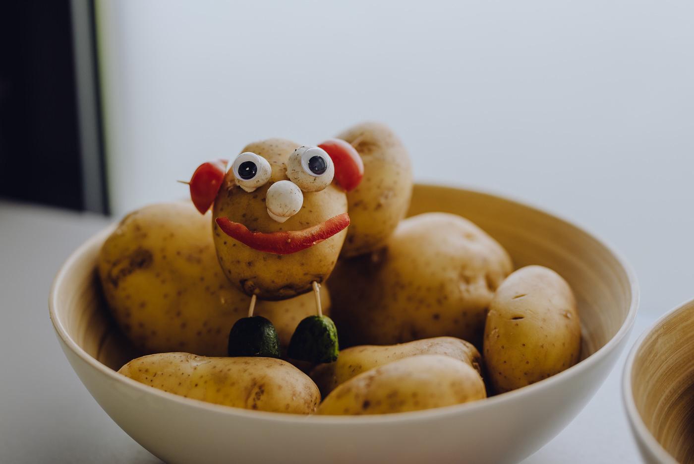 Ludzik z ziemniaka