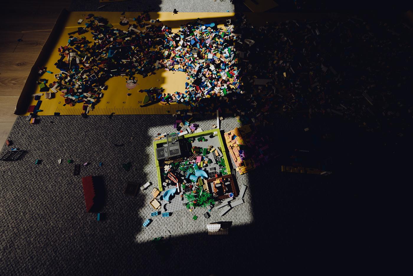 Zajęcia z klockami lego
