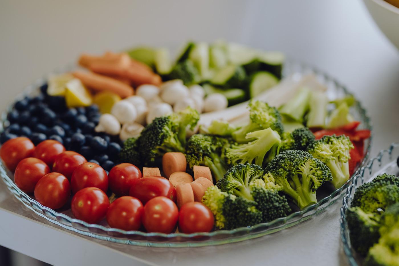 Talerz warzyw