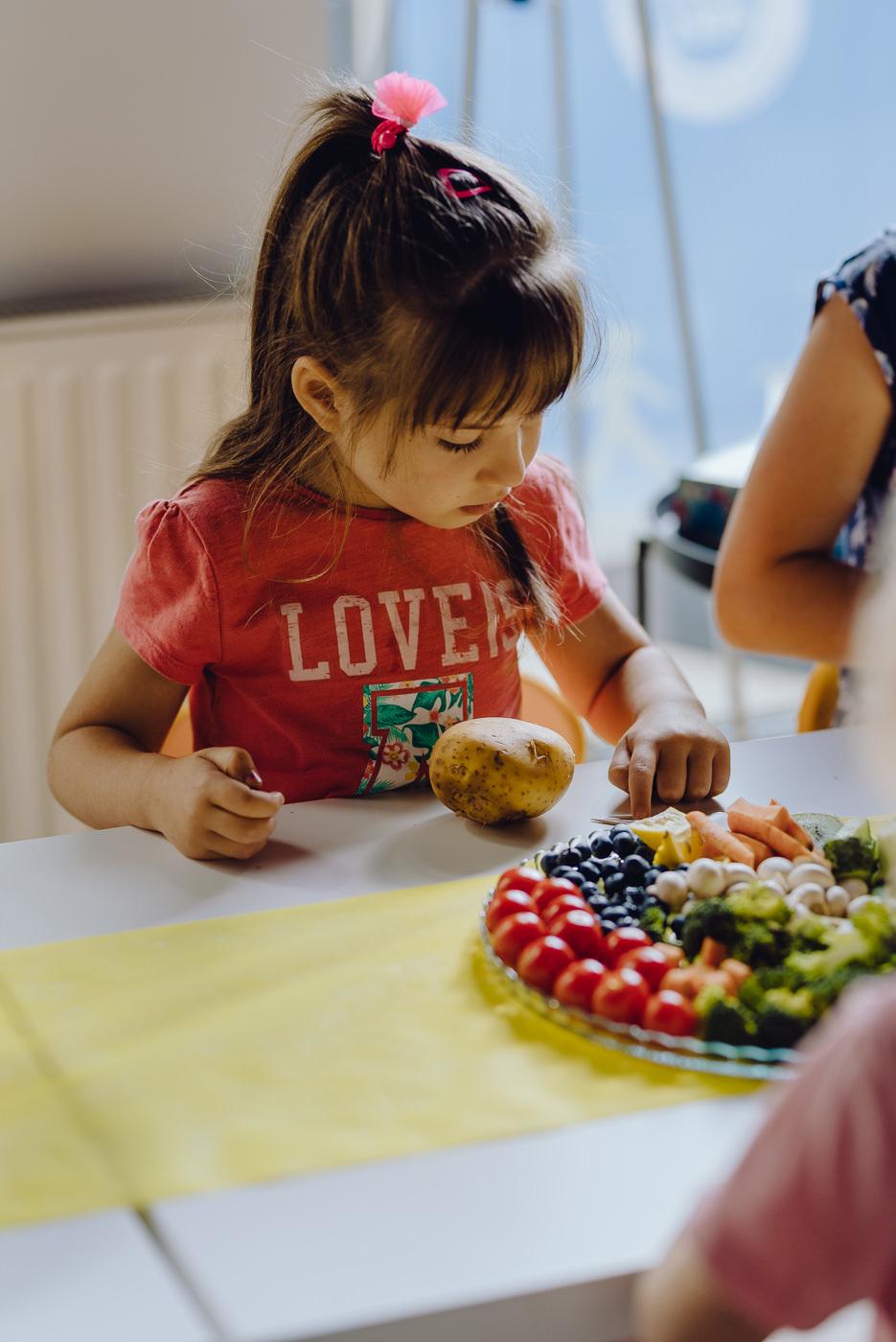 Zajęcia z owocami
