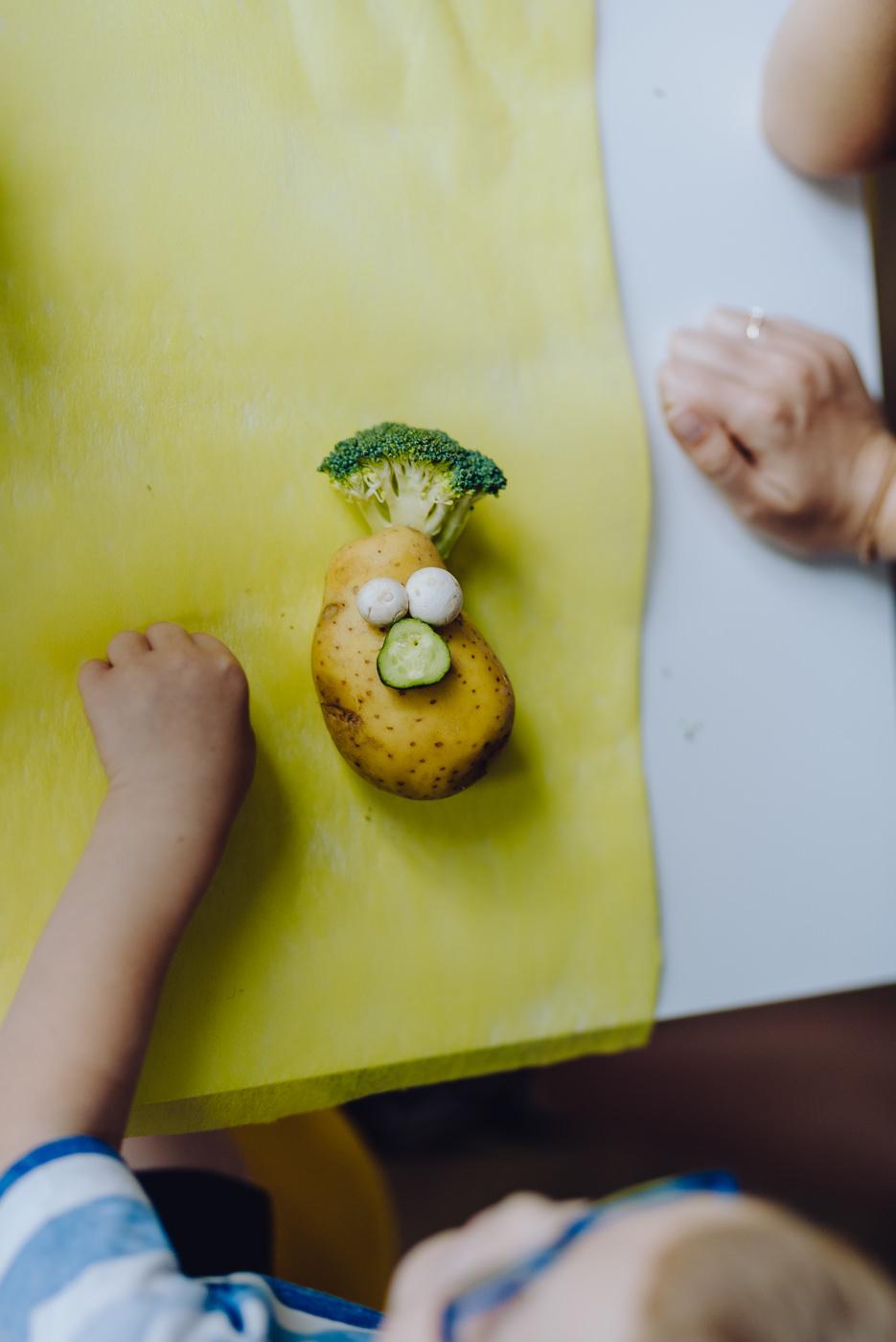 Zajęcia z ziemniakiem