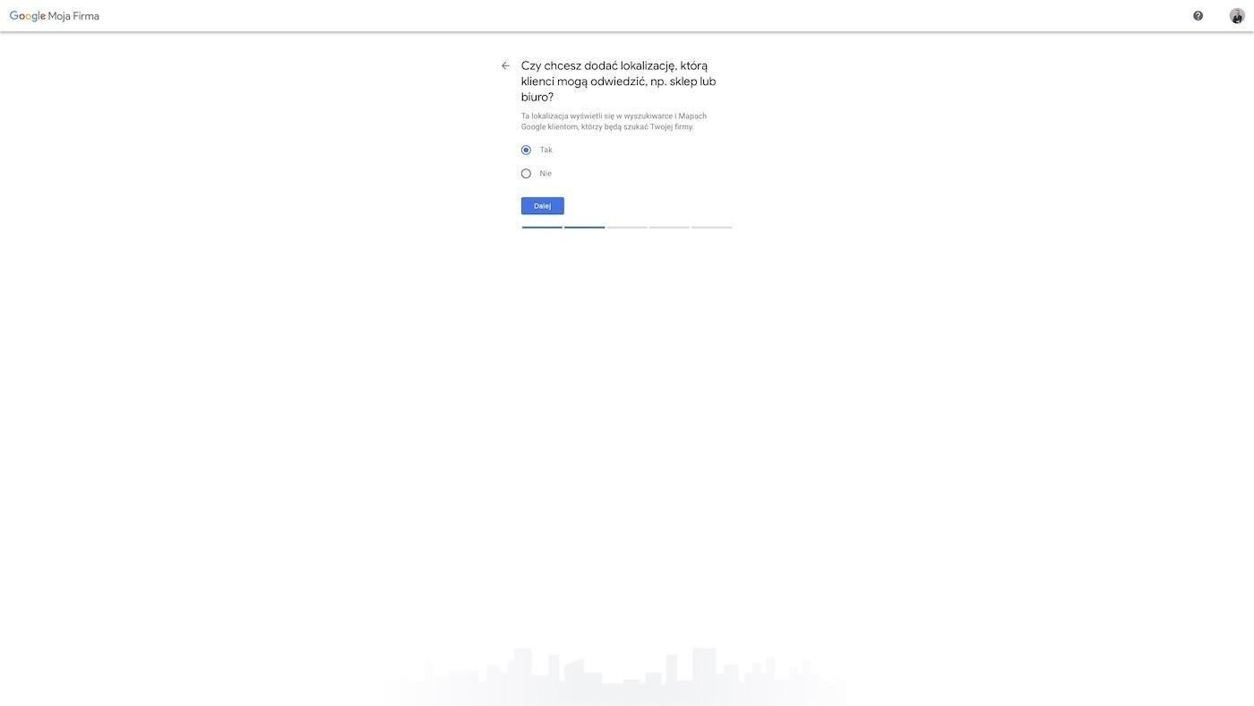 Lokalizacja firmy w Mapach Google