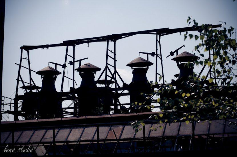 kominy fabryki