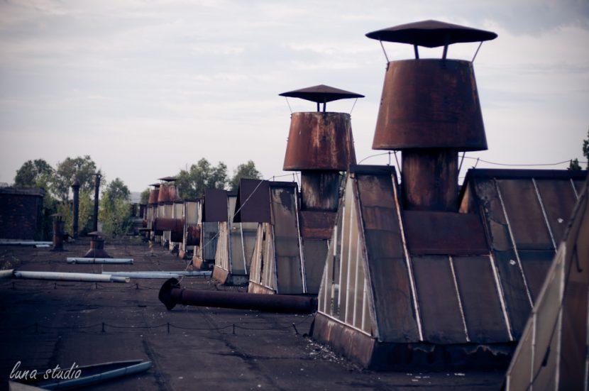 dach fabryki ursus