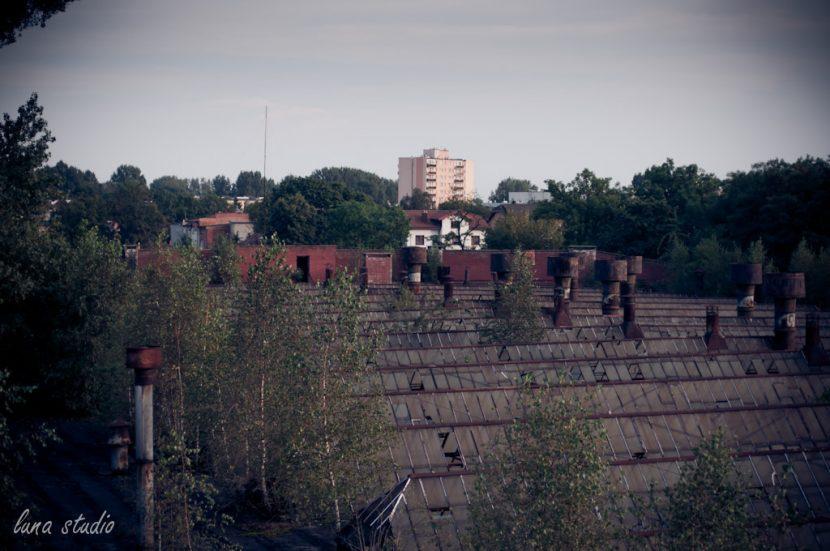dachy fabryki Ursus w warszawie
