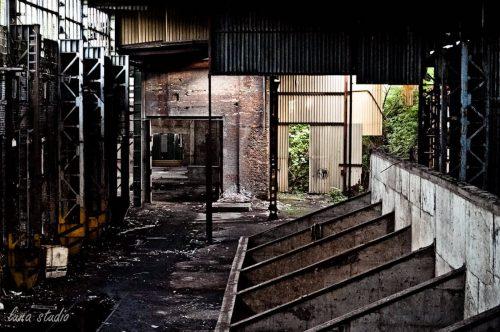 hale opuszczonej fabryki ursus w warszawie
