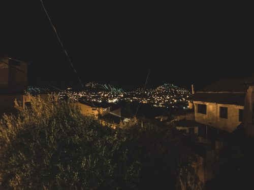 Cusco nocą