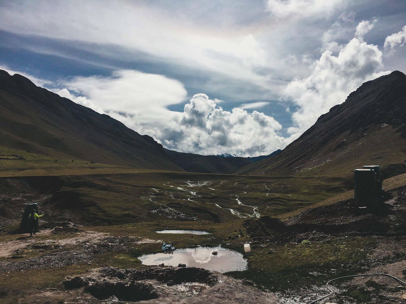 Kałuże w górach