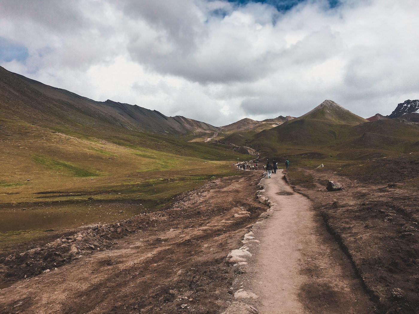 Szlak na tęczową górę