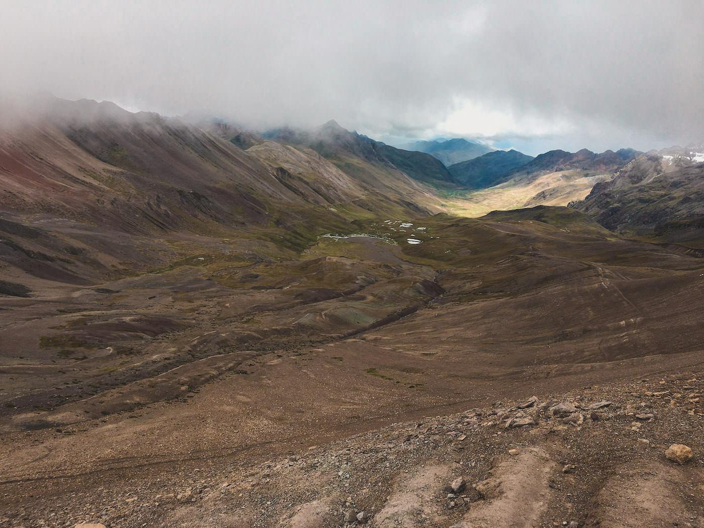Tęczowe góry w Peru