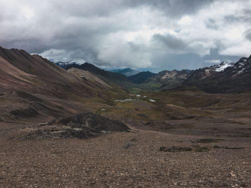Tęczowa góra w Peru