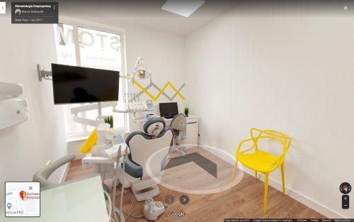 Virtual Walk Dental Clinic in Ząbki