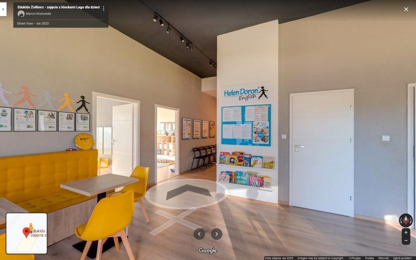 Virtual tour of a kindergarten in Warsaw