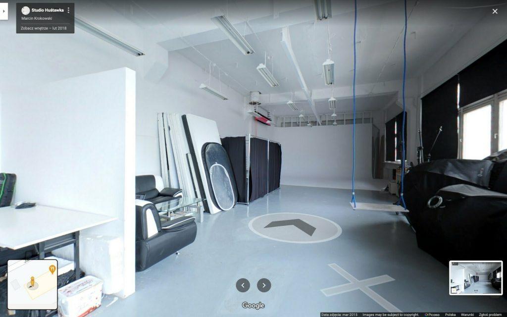 Wirtualny Spacer po Studio Fotograficznym
