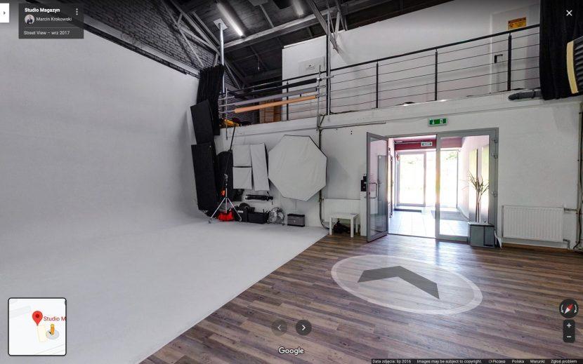 Virtual Walk around the Studio