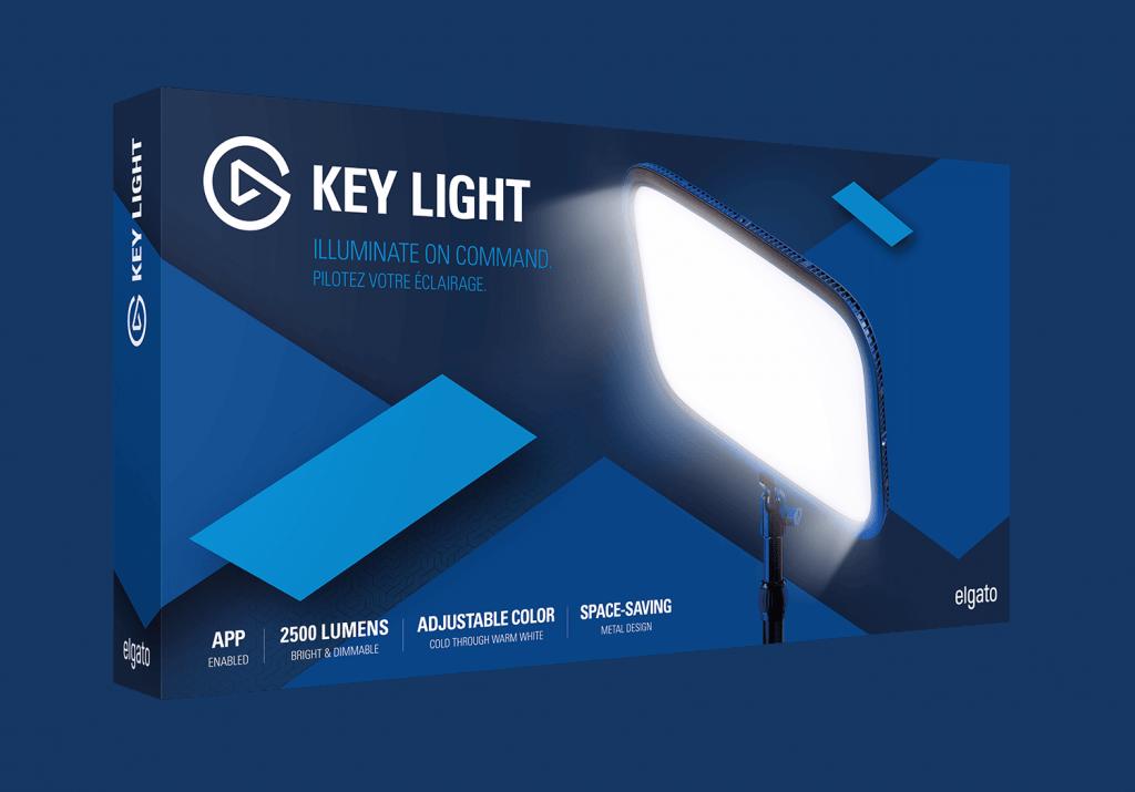 Światło do streamowania - aparat jako kamerka internetowa