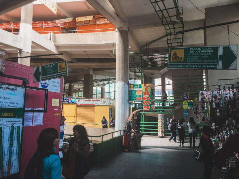 Galeria handlowa w La Paz