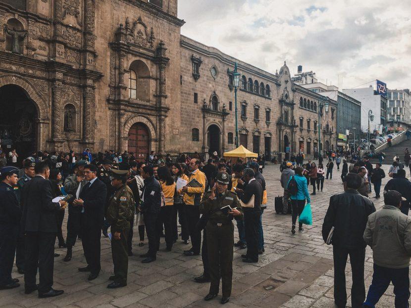 Żołnierze na ulicy